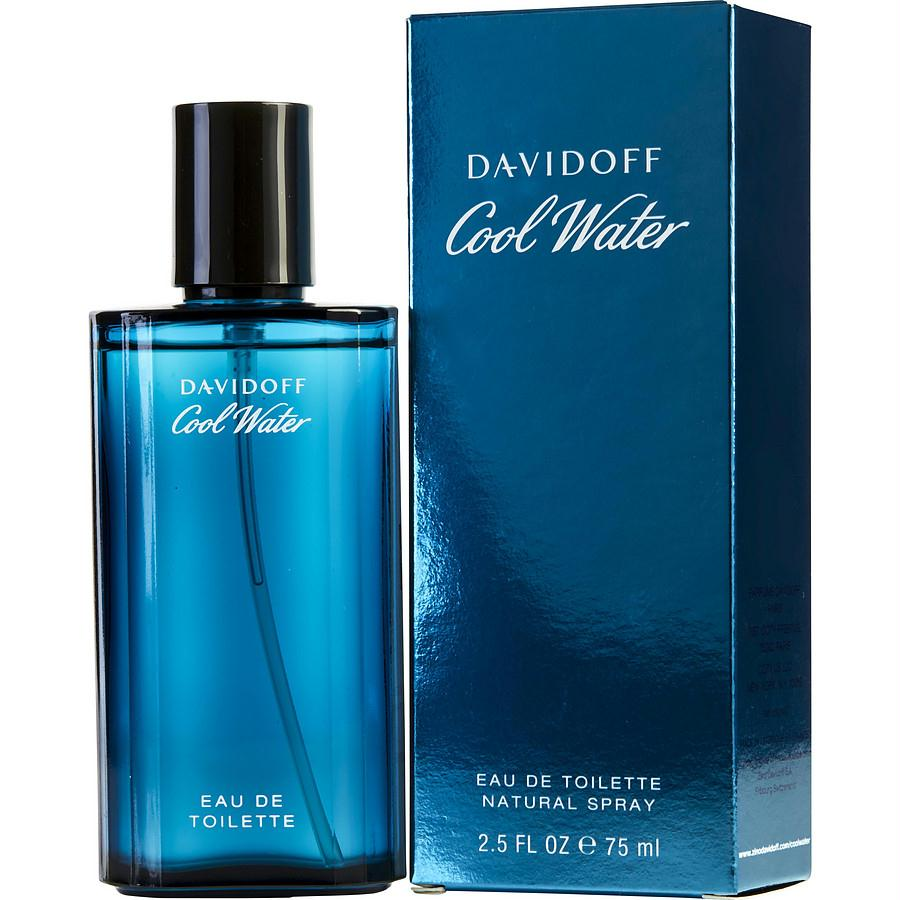 Cool Water By Davidoff Edt Spray 2.5 Oz