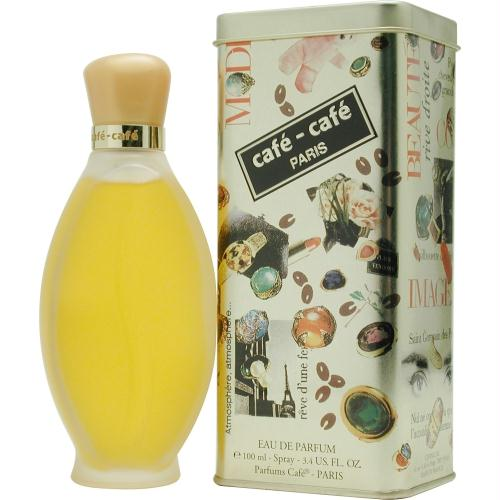 Cafe De Cafe By Cofinluxe Eau De Parfum Spray 3.4 Oz