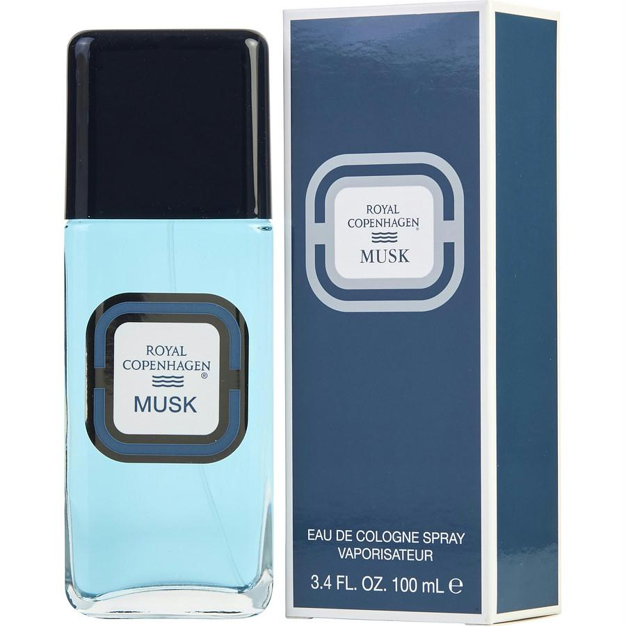 Royal Copenhagen Musk By Royal Copenhagen Cologne Spray 3.4 Oz