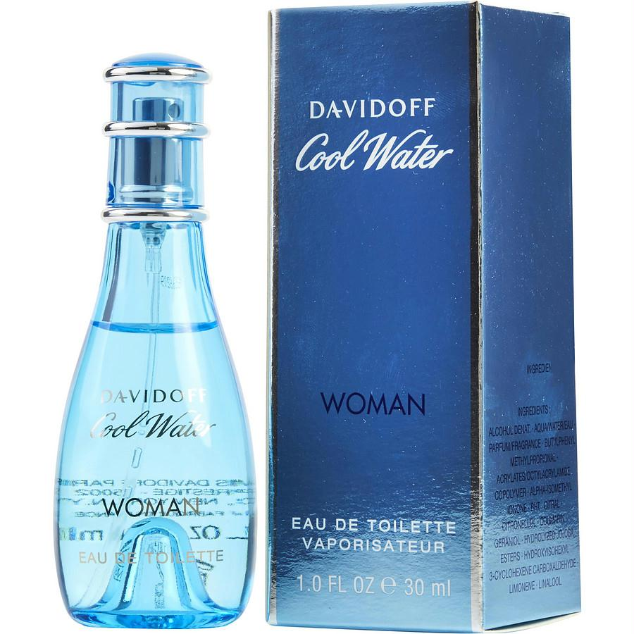 Cool Water By Davidoff Edt Spray 1 Oz