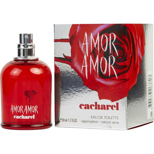 Amor Amor By Cacharel Edt Spray 1.7 Oz