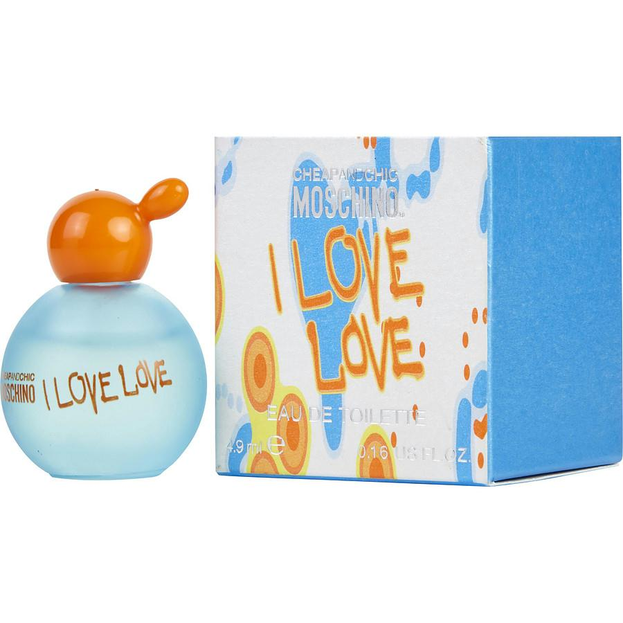 I Love Love By Moschino Edt .16 Oz Mini