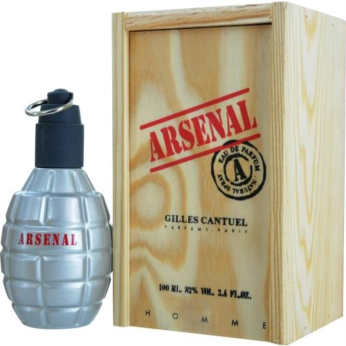 Arsenal Grey By Gilles Cantuel Eau De Parfum Spray 3.4 Oz