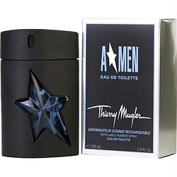 Angel By Thierry Mugler Edt Spray Rubber Bottle 3.4 Oz