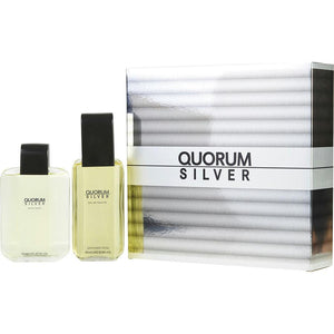 Antonio Puig Gift Set Quorum Silver By Antonio Puig