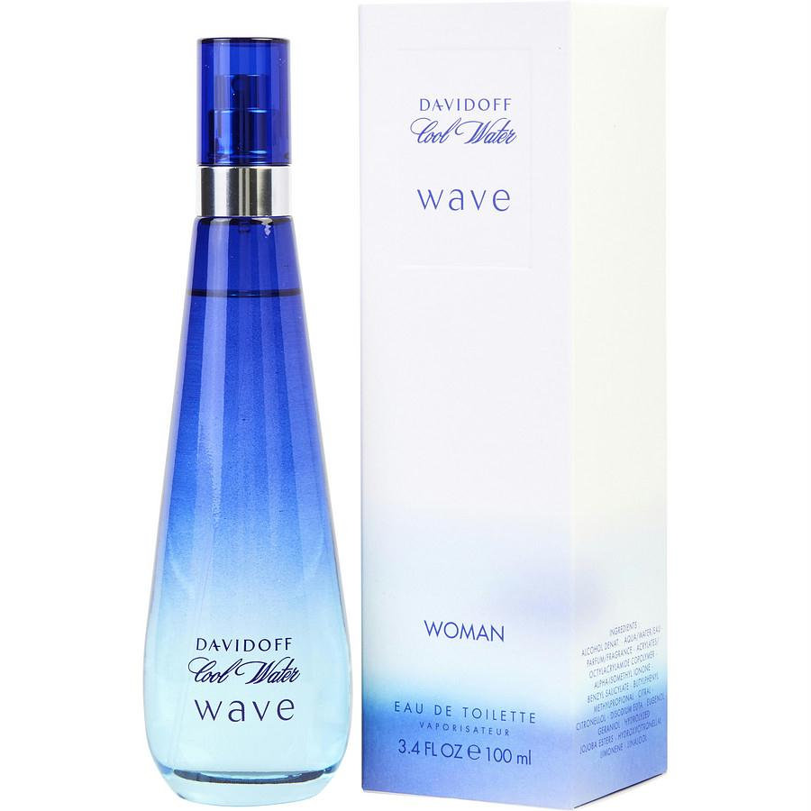 Cool Water Wave By Davidoff Edt Spray 3.4 Oz