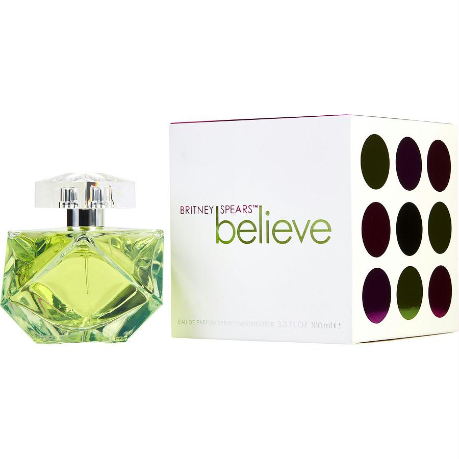 Believe Britney Spears By Britney Spears Eau De Parfum Spray 3.3 Oz