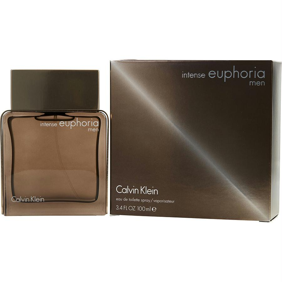 Euphoria Men Intense By Calvin Klein Edt Spray 3.4 Oz