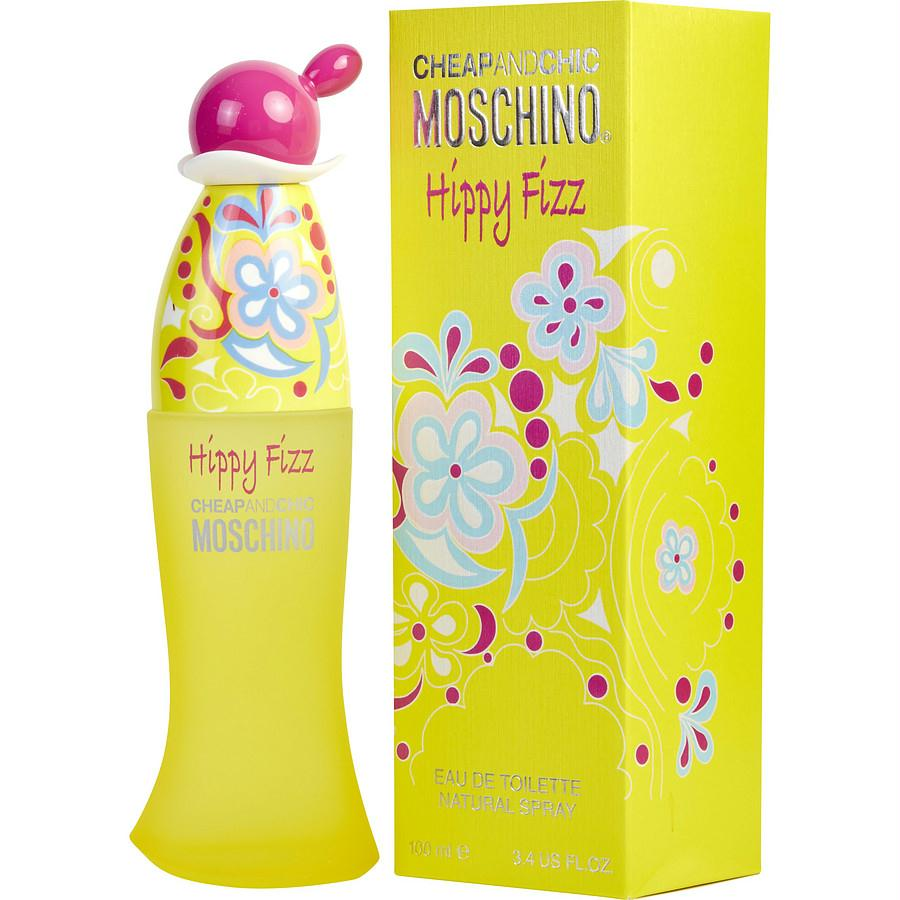 Moschino Cheap & Chic Hippy Fizz By Moschino Edt Spray 3.4 Oz