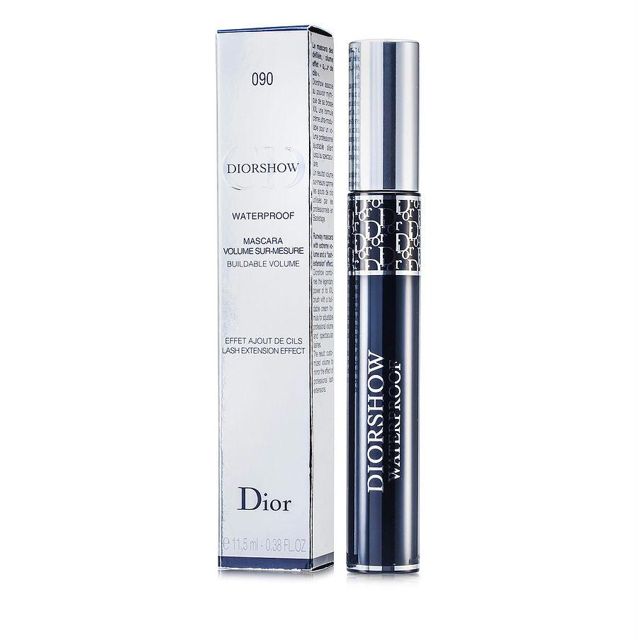 Christian Dior Diorshow Mascara Waterproof - # 090 Black --11.5ml-0.38oz By Christian Dior