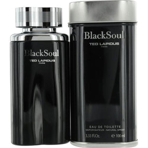 Black Soul By Ted Lapidus Edt Spray 3.3 Oz