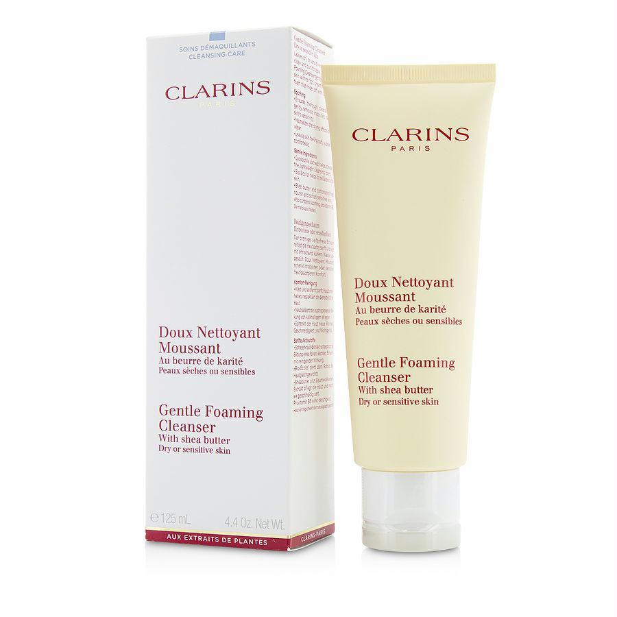 Gentle Foaming Cleanser With Shea Butter ( Dry- Sensitive Skin ) --125ml-4.4oz