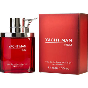 Yacht Man Red By Myrurgia Edt Spray 3.4 Oz