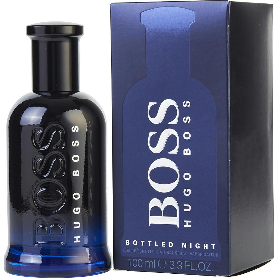 Boss Bottled Night By Hugo Boss Edt Spray 3.3 Oz