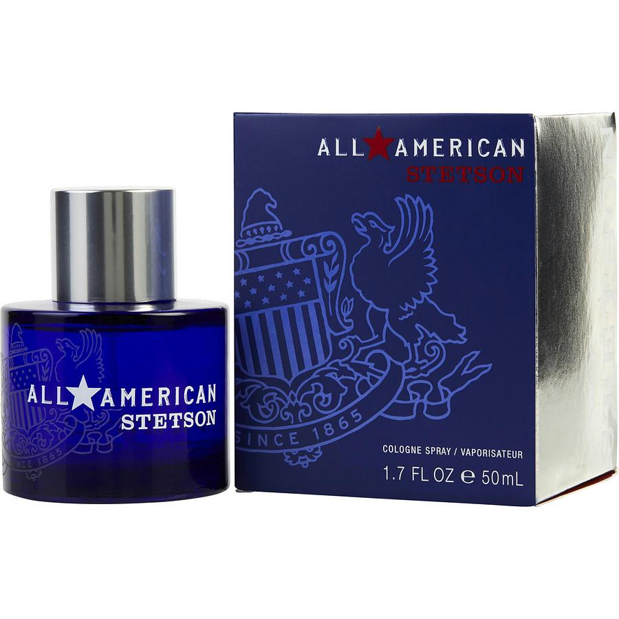 All American Stetson By Coty Cologne Spray 1.7 Oz