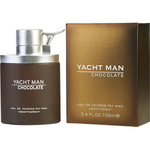Yacht Man Chocolate By Myrurgia Edt Spray 3.4 Oz