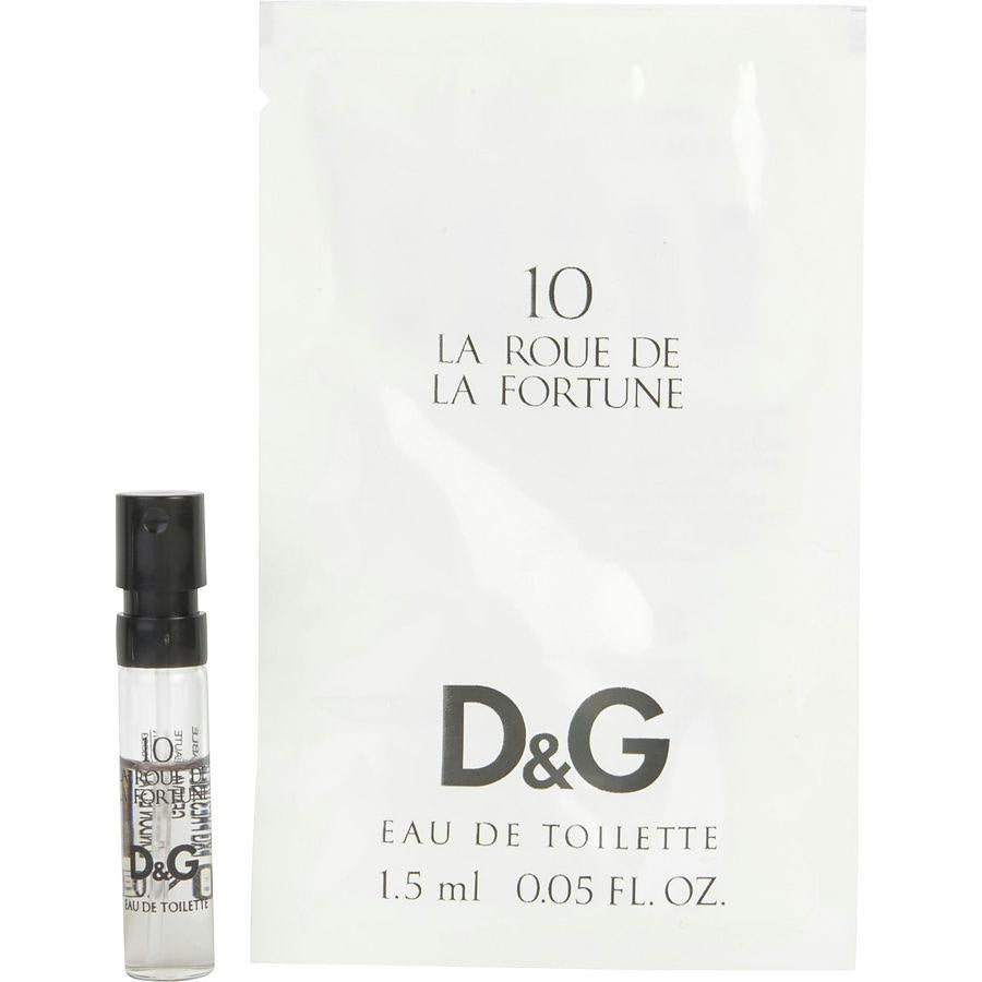 D & G 10 La Roue De La Fortune By Dolce & Gabbana Edt Spray Vial