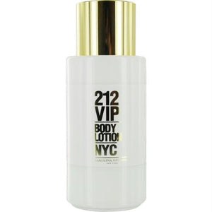 212 Vip By Carolina Herrera Body Lotion 6.7 Oz