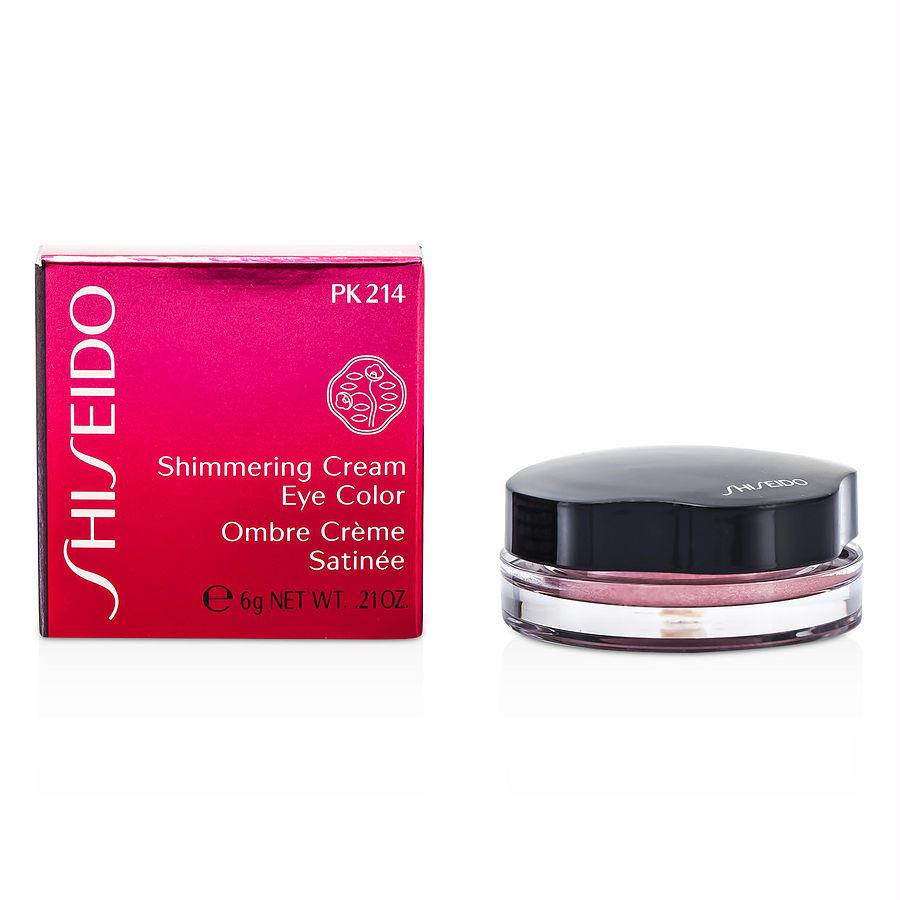 Shiseido Shimmering Cream Eye Color - # Pk214 Pale Shell --6g-0.21oz By Shiseido