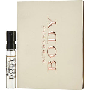 Burberry Body By Burberry Eau De Parfum Spray Vial On Card