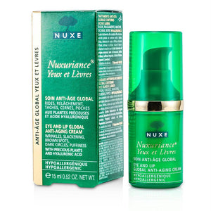 Nuxuriance Eye And Lip Global Anti-aging Cream --15ml-0.52oz