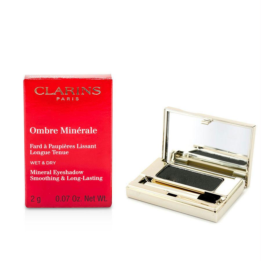 Clarins Ombre Minerale Smoothing & Long Lasting Mineral Eyeshadow - # 15 Black Sparkle --2g-0.07oz By Clarins