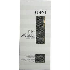 Opi Pure Lacquer Nail Apps--geometric Sparkle--16 Pre-cut Strips By Opi
