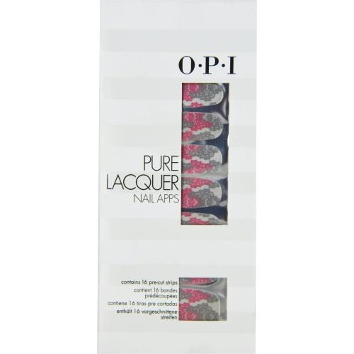 Opi Pure Lacquer Nail Apps--parisian--16 Pre-cut Strips By Opi