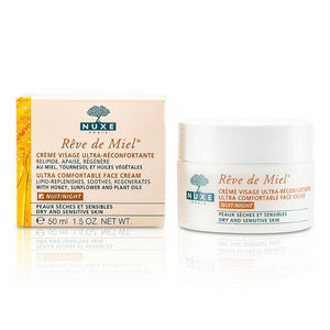 Reve De Miel Ultra Comfortable Face Night Cream (dry & Sensitive Skin) --50ml-1.5oz