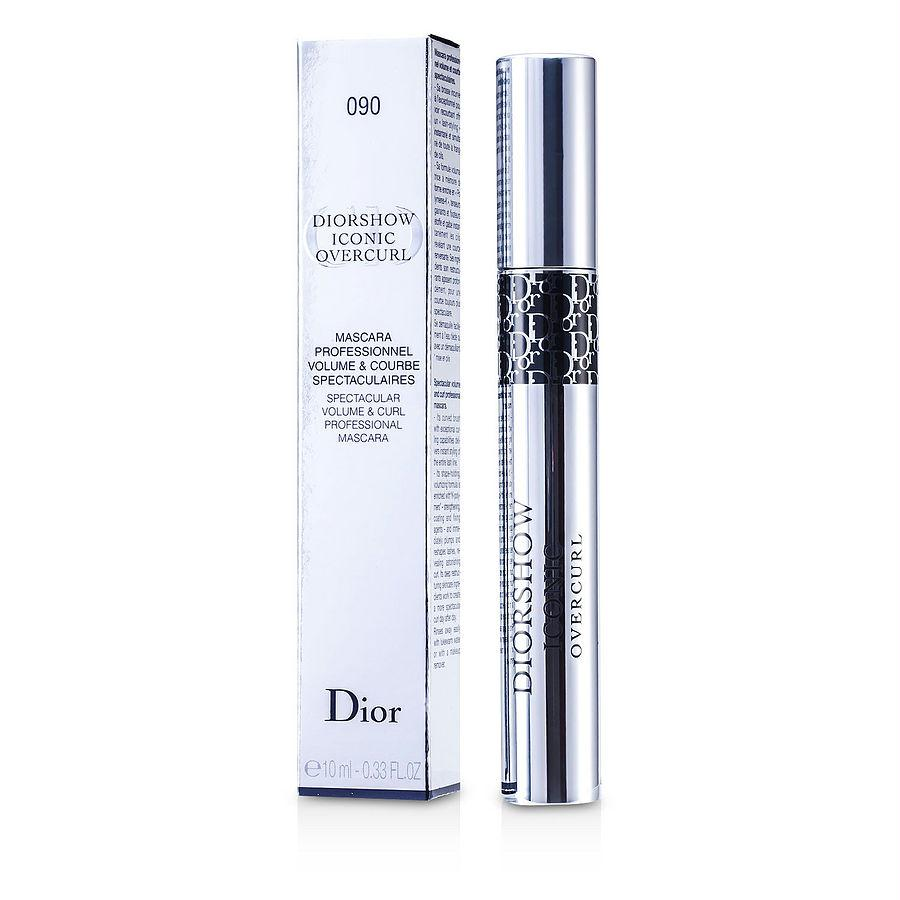 Christian Dior Diorshow Iconic Overcurl Mascara - # 090 Over Black --10ml-0.33oz By Christian Dior