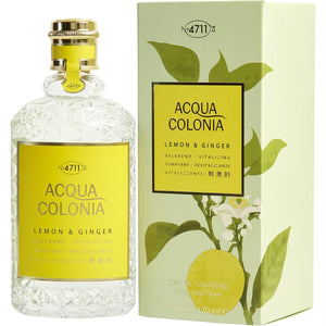 4711 Acqua Colonia By 4711 Lemon & Ginger Eau De Cologne Spray 5.7 Oz