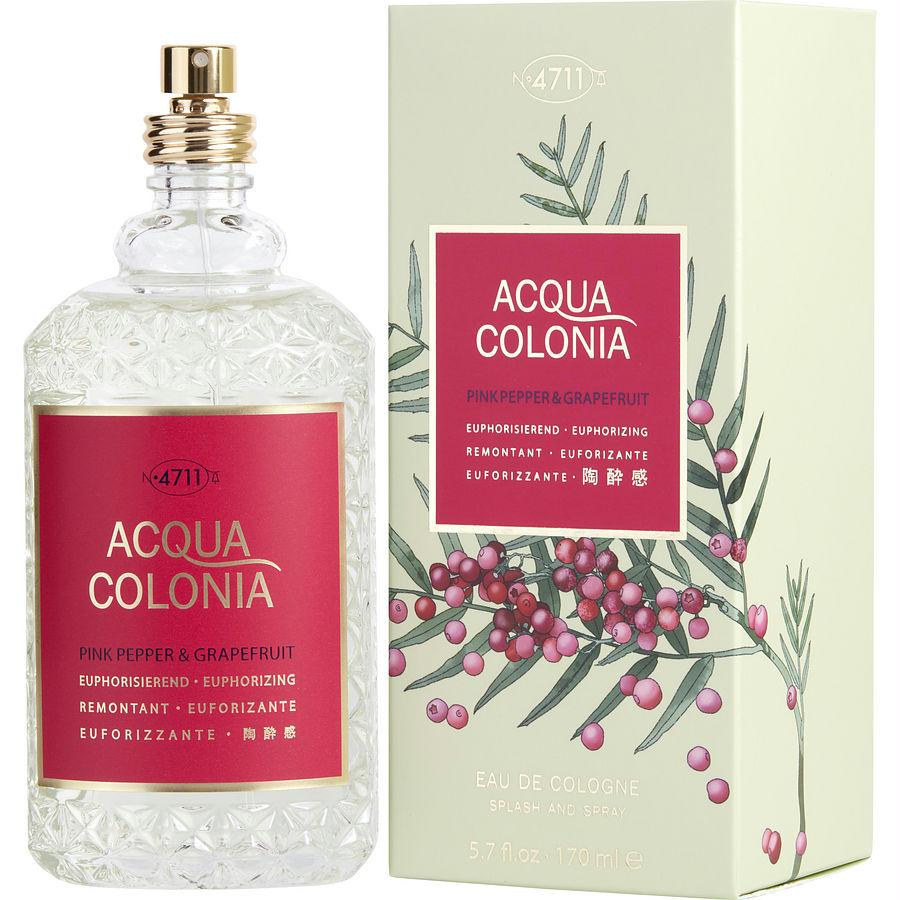 4711 Acqua Colonia By 4711 Pink Pepper & Grapefruit Eau De Cologne Spray 5.7 Oz