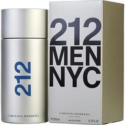 212 By Carolina Herrera Edt Spray 6.7 Oz