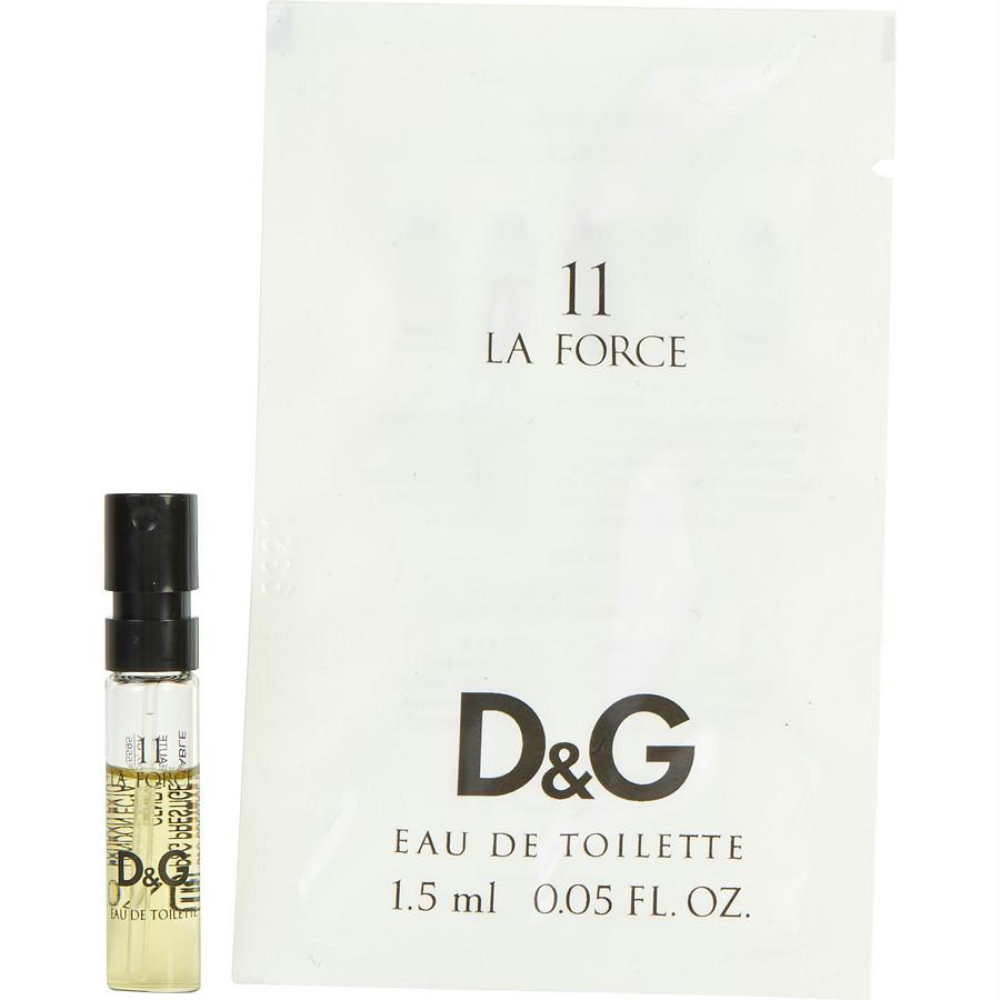 D & G 11 La Force By Dolce & Gabbana Edt Vial