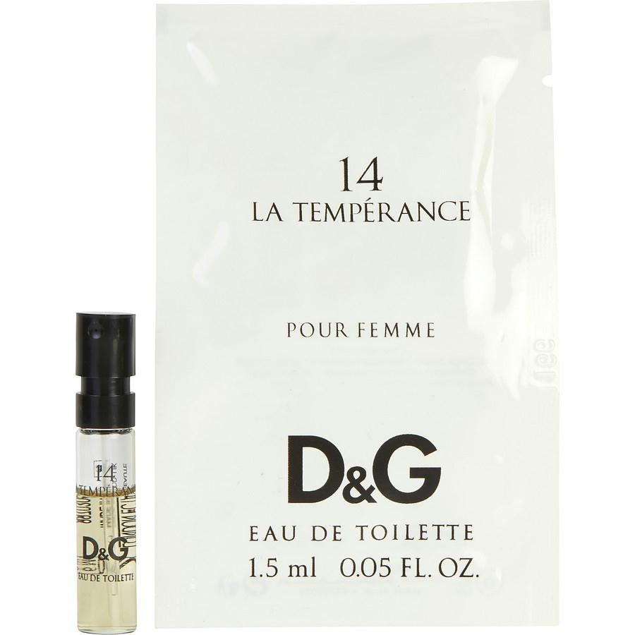 D & G 14 La Temperance By Dolce & Gabbana Edt Spray Vial