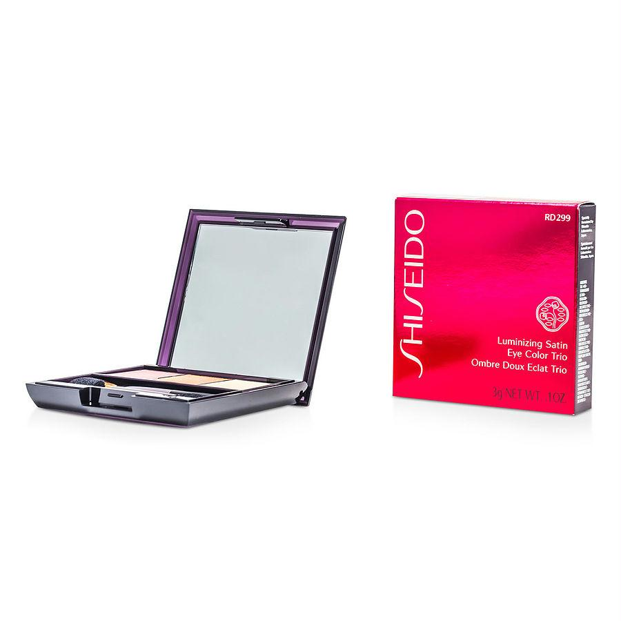 Shiseido Luminizing Satin Eye Color Trio - # Rd299 Beach Grass --3g-0.1oz By Shiseido