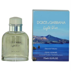 D & G Light Blue Discover Vulcano Pour Homme By Dolce & Gabbana Edt Spray 2.5 Oz (limited Edition)