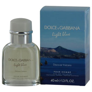 D & G Light Blue Discover Vulcano Pour Homme By Dolce & Gabbana Edt Spray 1.3 Oz (limited Edition)
