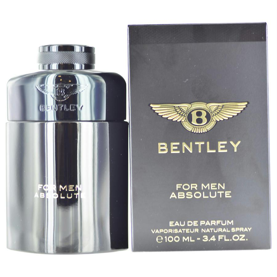 Bentley For Men Absolute By Bentley Eau De Parfum Spray 3.4 Oz
