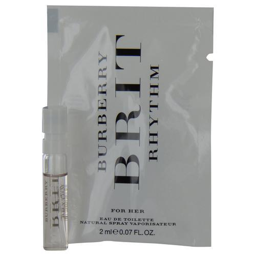Burberry Brit Rhythm By Burberry Edt Spray Vial