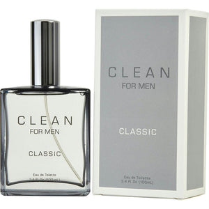 Clean Men By Clean Edt Spray 3.4 Oz