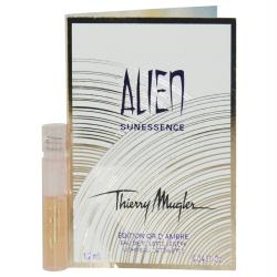 Alien Sunessence By Thierry Mugler Gold Amber Light Edt Spray Vial On Card (limited Edition)