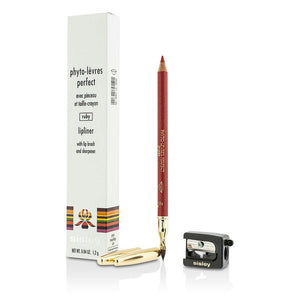 Sisley Phyto Levres Perfect Lipliner With Lip Brush And Sharpener - #7 Ruby --1.2g-0.04oz By Sisley