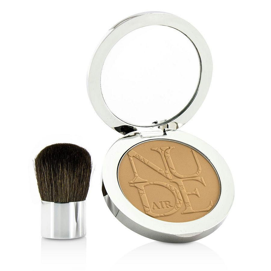 Christian Dior Diorskin Nude Air Healthy Glow Invisible Powder (with Kabuki Brush) - # 030 Medium Beige --10g-0.35oz By Christian Dior