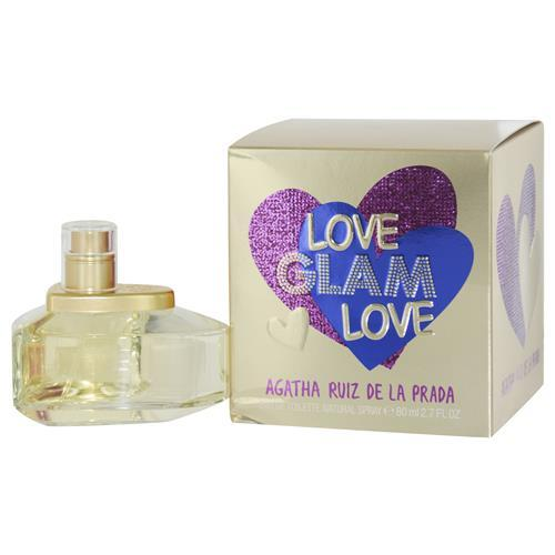 Agatha Ruiz De La Prada Love Glam By Agatha Ruiz De La Prada Edt Spray 2.7 Oz