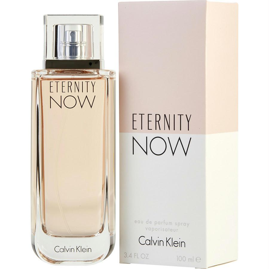 Eternity Now By Calvin Klein Eau De Parfum Spray 3.4 Oz