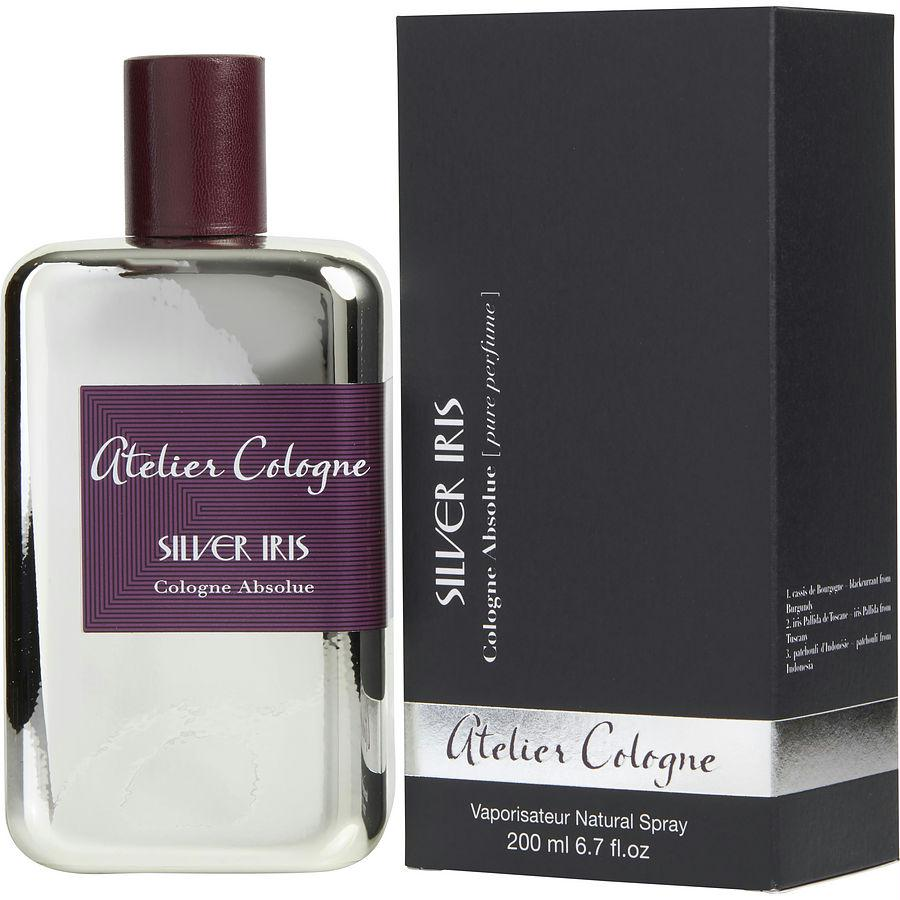 Atelier Cologne By Atelier Cologne Silver Iris Cologne Absolue Spray 6.7 Oz