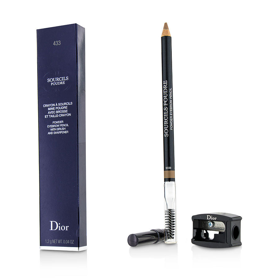Christian Dior Sourcils Poudre - # 433 Ash Blonde --1.2g-0.04oz By Christian Dior