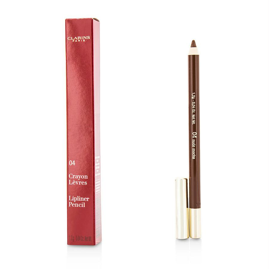 Clarins Lipliner Pencil - #04 Nude Mocha 442281 --1.2g-0.04oz By Clarins