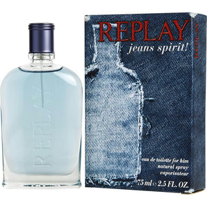 Replay Jeans Spirit By Replay Edt Spray 2.5 Oz